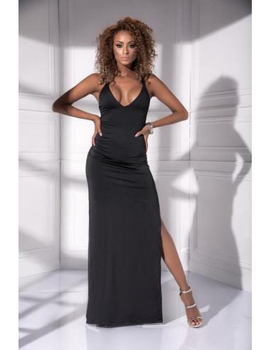 Robe longue noire - 4534