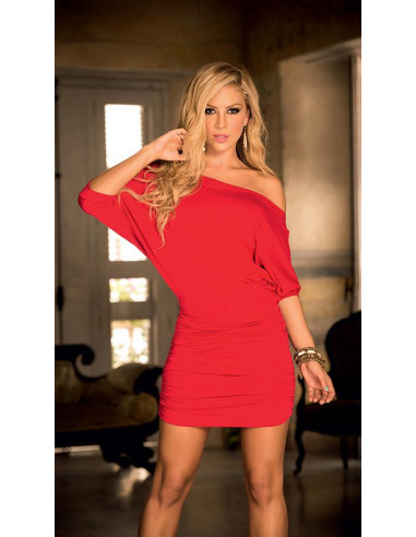 Robe rouge sexy - 4749