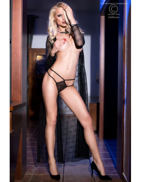 déshabillé robe longue CR4133