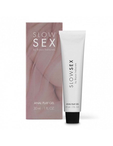 Slow sex - Gel anal