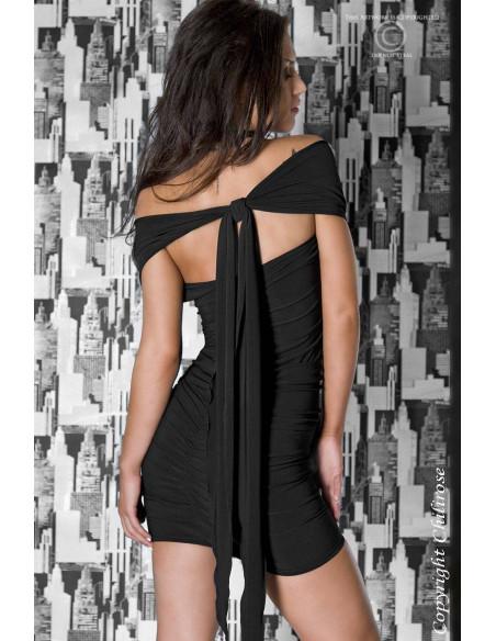 Robe courte CR3049 Noir
