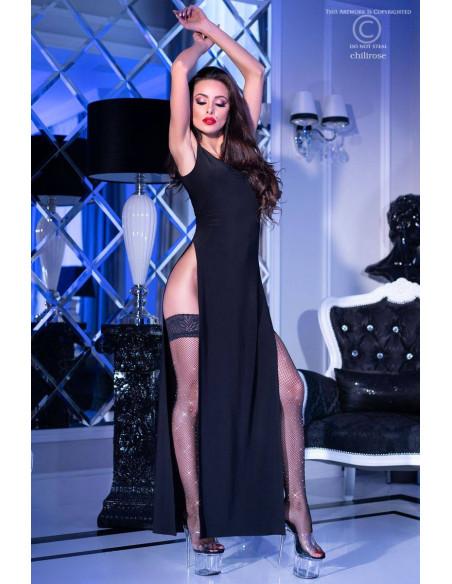 Robe longue CR4260 Noir