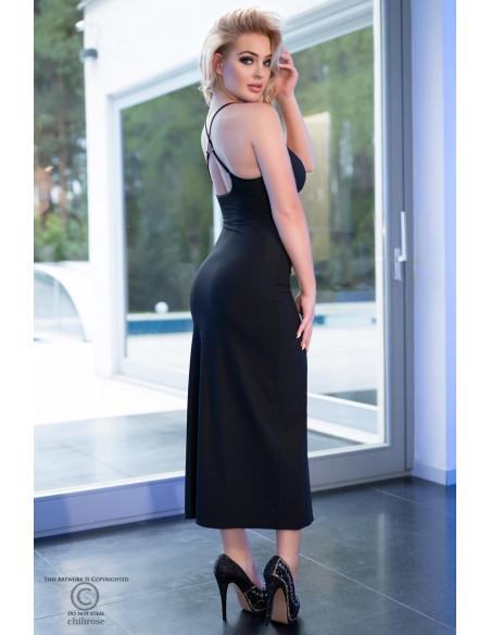 Robe longue CR4379 Noir