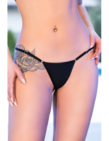 String bikini CR4382 Noir