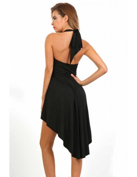 Robe glamour FD-9518 Noir