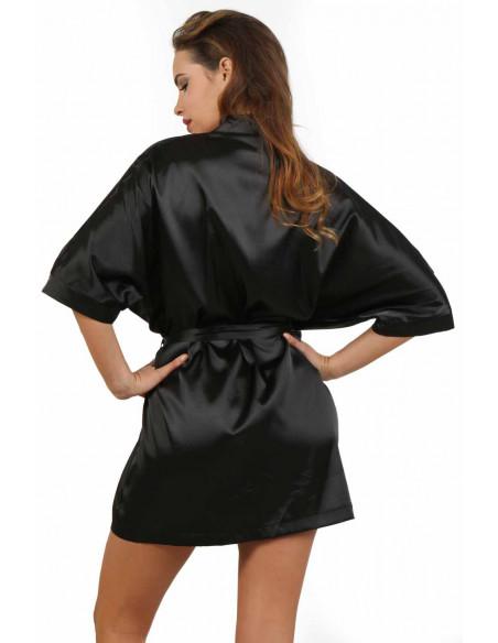 Robe kimono FD-2333S Noir