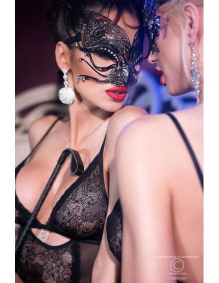 Masque vénitien CR4325 Noir