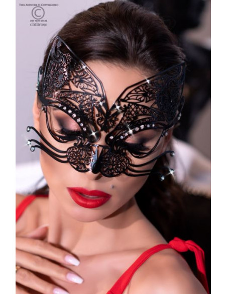 Masque vénitien CR4326 Noir